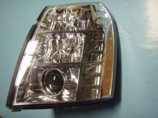 07 11 CADILLAC ESCALADE LEFT HEADLIGHT ASSEMBLY XENON