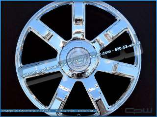 NEW 24 INCH CHROME PLATED WHEELS RIMS FOR CADILLAC ESCALADE TAHOE