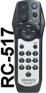 Kenwood CD  Radio Stereo REMOTE CONTROL 4 KDC MP242U