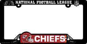 CAR/AUTO LICENSE PLATE FRAME KANSAS CITY CHIEFS NFL