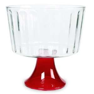 Indiana Glass Ruby Trifle Bowl